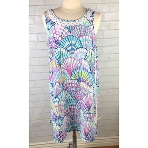 Lilly Pulitzer Seashells Dress with Pockets